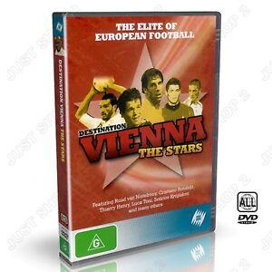 Destination Vienna The Stars DVD : The Elite Of European Football : Brand New