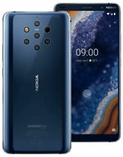 SIM Free Nokia 9 PureView 5.99 Inch 128GB 6GB 60MP Android Mobile Phone - Blue
