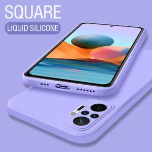 Case For Xiaomi Redmi Note 10 Pro K40 11 Ultra Poco F3 Liquid Silicone TPU Cover