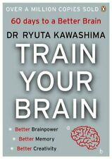 Train Your Brain by Kawashima Paperback Book The Cheap Fast Free Post