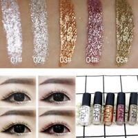 Crayons pour les yeux brillants Pigment cosmétique Argent Rose Gold Color Eyel