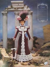 Annie's Attic Potter Fashion Bed Doll October Crochet Pattern 1995 Trousseau