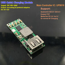 QC3.0 2.0 USB Quick Charge 5V 12V Fast Charging Module Car Charger Mobile Phone