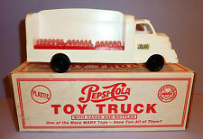 MARX VINTAGE COLLECTIBLES 1995 Plastic PEPSI-COLA DELIVERY TRUCK with BOX ~ 10""