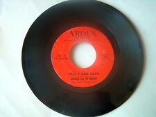 BARBARA AND THE UNIQUES-ARDEN 3001 TWO SIDED NORTHERN SOUL 45 THERE ITGOESAGAIN