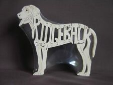 Rhodesian Ridgeback Dog Wooden Toy Scroll Saw Puzzle
