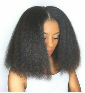 Yaki Hair Synthetic Wigs African Punk Fashion women's short straight Real Touh