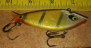 Smithwick Water Gator Perch 3 1/4 in. Vintage Fishing Tackle lure Bass Musky