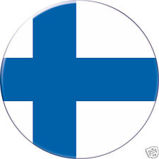 FINLANDE FINLAND DRAPEAU FLAG PAYS COUNTRY Ø38MM PIN BADGE BUTTON
