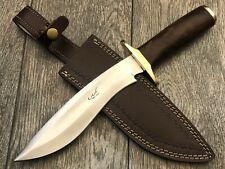 "ASH HKA711 CUSTOM HANDMADE HUNTING BOWIE KNIFE 440C STEEL 13"""