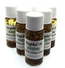 Khepri Magickal Herbal Anointing Incense 10ml Oil