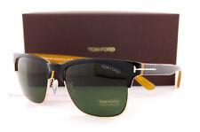 Brand New Tom Ford Sunglasses TF 0386 386 05N Black/Green for Men Women