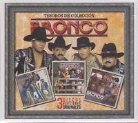 NEW - Bronco 3 CD's 190758976426 Tesoros De Coleccion - SEALED!