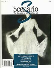 SCENARIO Screenwriting Magazine 1997 Wings of the Dove All About Eve screenplay