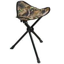 Ameristep Tripod Folding Stool Hunting Chair Realtree Xtra Camo Green Camping
