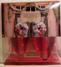 Bath & and Body Works HOLIDAY Wallflowers Bulb box of 2 Refills NEW