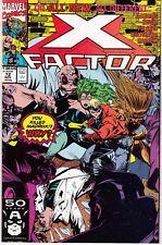 X-FACTOR  #72 1991 -MULTIPLE HOMICIDE- HAVOK, -KILL MADROX?  HARRAS...NM-