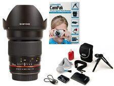 Wide angle Samyang lens 24mm f/1.4 ED AS IF UMC AE for Nikon FINAL SALE + GIFT