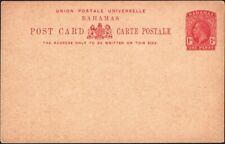 BAHAMAS, 1912. Post Card KGV H&G 9, Mint