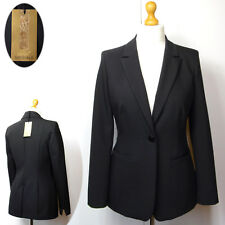 New PER UNA SPEZIALE Ladies TAILORED JACKET ~ Size 6 ~ BLACK