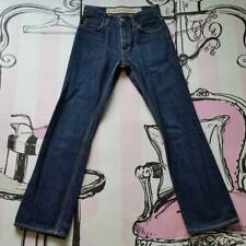 Mens Size 26 Gap Straight Grain Bootcut Jeans Blue 100%Cotton W26 L29