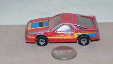 1984 MATCHBOX DODGE DAYTONA TURBO Z RED