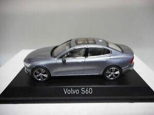 VOLVO S60 2018 OSMIUM GREY NOREV 870011 1:43
