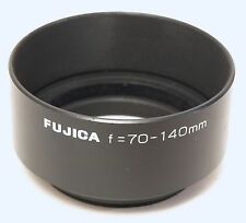 Fuji Original 55mm Redondo Metal Parasol Para 70-140mm Lente