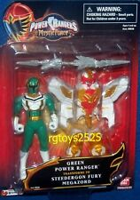 "Power Rangers Mystic Force 4"" Green Ranger to 4"" Steedergon Fury Megazord New"