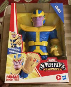 Playskool Heroes Mega Mighties Marvel Super Hero Adventures Thanos New NIB