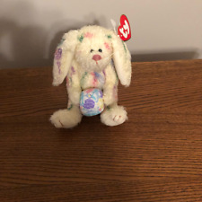 Ty Beanie Babies Attic Treasures Georgia the Easter bunny w/egg 1993