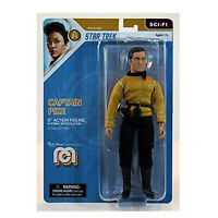 "Mego Star Trek Discovery Captain Pike 8"" Action Figure"