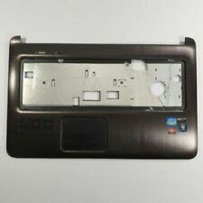 HP DV7-6000 SERIES PALMREST TOUCHPAD BROWN 639388-001