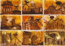 H.G WELLS  WAR OF THE WORLDS  TRADING CARDS PREVIEW SET