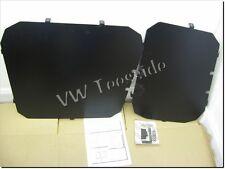Genuine VW Caddy Solid Rear Window Security Guards Wing Barn Doors ZGB2K0017224G