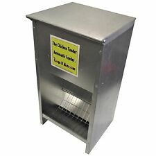 RITE FARM PRODUCTS 35# CAPACITY THE CHICKEN TENDER AUTOMATIC FEEDER POULTRY HIGH