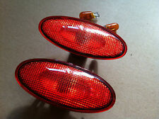 Rote Seitenblinker in.pro Fiat Punto 176 Limousine+ Cabrio