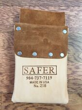 Carpet and Flooring Installer Leather Tool Pouch 218