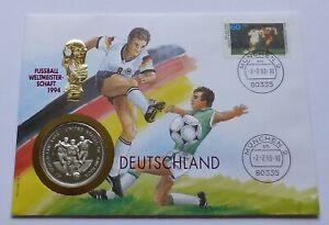 Uganda 1000 Shillings 1993, Cover-Stamp, FIFA World Cup 1996