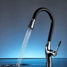 Kitchen Sink Tap&Pull Out Spray Basin Mixer Thermostatic Faucet Swan Neck HOT!!