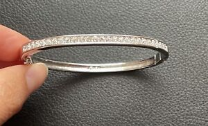 genuine swarovski crystal bangle/bracelet