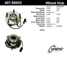 Wheel Bearing and Hub Assembly-RWD Front Centric 407.66002E