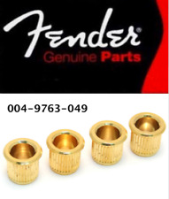 4 Virolas Bass Fender USA - Oro - 0049763049 - Jazz & Precisión Bass