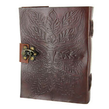 Rediscovering Green Man's Renaissance Handmade Personal Leather Writing Journal