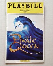 Playbill The Pirate Queen Cadillac Palace Theatre Oct 2006 Chicago IL