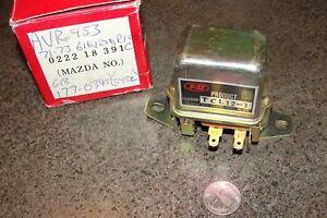 Volt.Regulator Beck/Arnley#177-0395,Mazda#022218391,Lucas#NCJ200 Mazda B1600,808