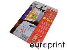 10 Blatt Inkjetfolie A4 Selbstklebend Transparent DATA BECKER