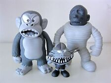 BOUNTY-HUNTER KAIBUTSU MONSTERS SET #2. RARE VINTAGE VINYL. BXH KUN 1997