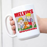 Melvins Houdini Mug Coffee Mug Tea Cup Wine Mugs Novelty Funny Mug White Ceramic