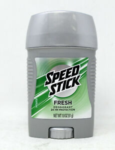 Speed Stick Fresh Deodorant 1.8 Ounce (Pack of 3)